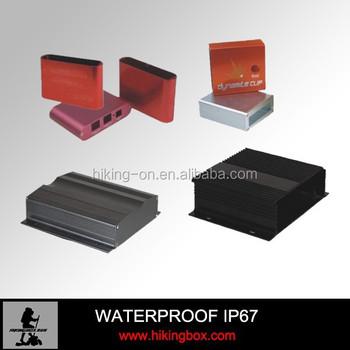 Estruso Personalizzati Cabinet In Alluminio Per Elettronica 100 In