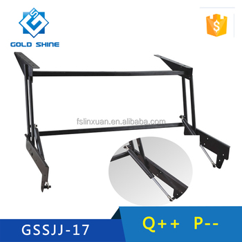 Space Saving Folding And Extension Lift Top Coffee Table Mechanism GSSJJ 17