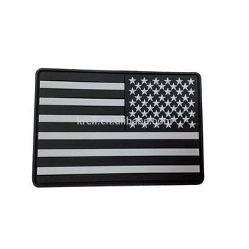 Custom Soft PVC Fridge Magnet of American Flag magnet