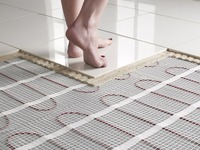 Practical floor heating cable