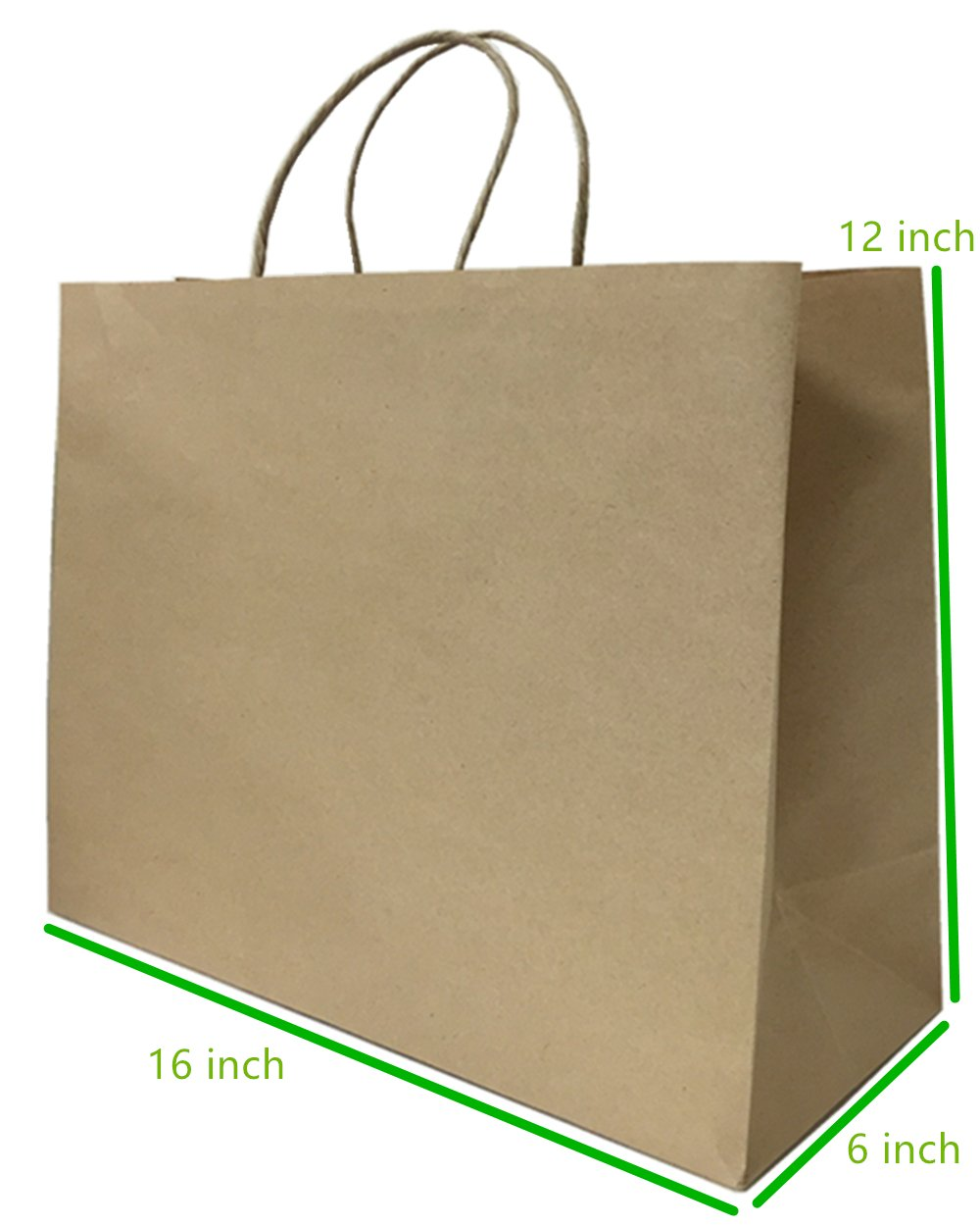 16 X6 X12 50 Pc Metrogalaxy Premium Kraft Paper Bag Gift