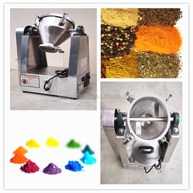 JUYOU Factory price industrial chemical powder mixer machine for mixing powder
