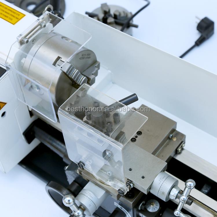 Manual Mini Torno Lathe Machine With Automatic Threading