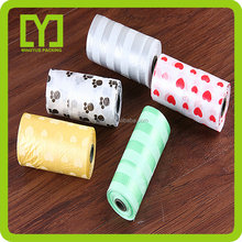 2016 China supplier bone dispenser bio-degradable Plastic dog poop bag
