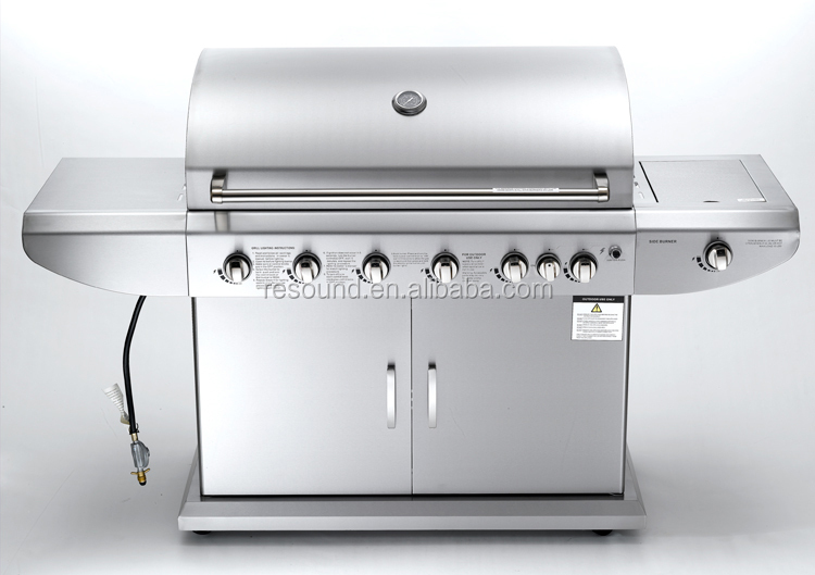 Villa outdoor luxurious hotel commercial infrared stainless bbq gas grill