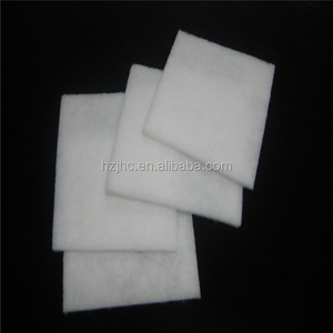 Activated carbon fiber polyester nonwoven needle felt construction air water filter cloth fabric