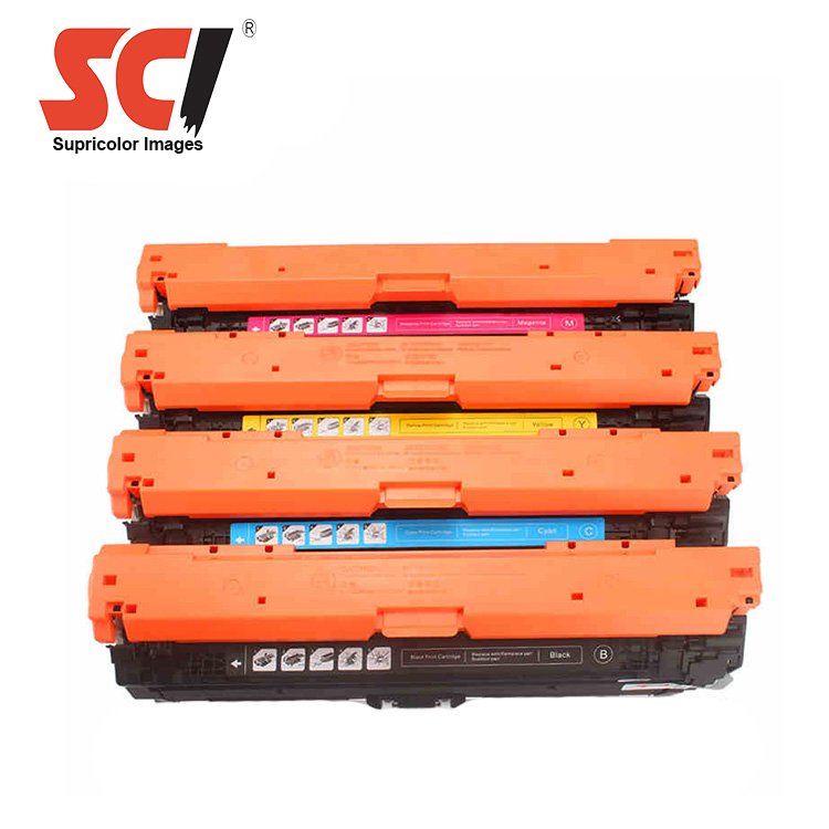 Supricolor CE270A CE271A CE272A CE273A 650A Toner Cartridge Compatible for Hp Color Laserjet Enterprise CP5525 / M750