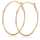 2019 Europe and America wholesale hot sale new style personality circle big earrings jewelry