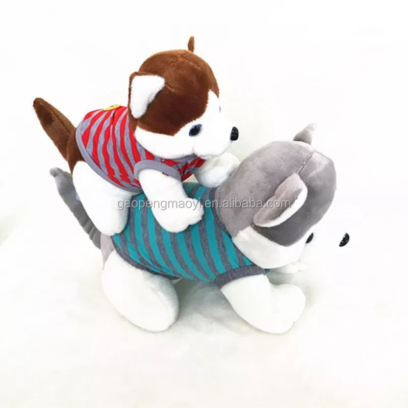 economical stuffed plush dog toy with low price/plush toys