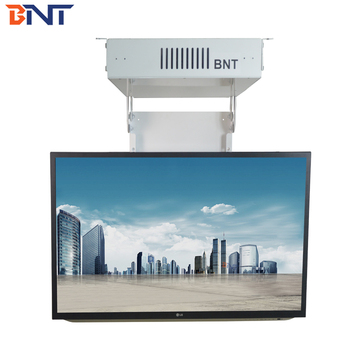BNT supply home used 55 inch motorized ceiling tv lift