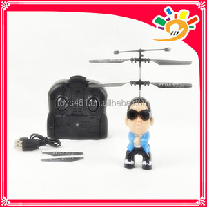 hot selling products PSY gangnam style funny man toys bird uncle FY320  remote control flight psy gangnan style rc helicopter