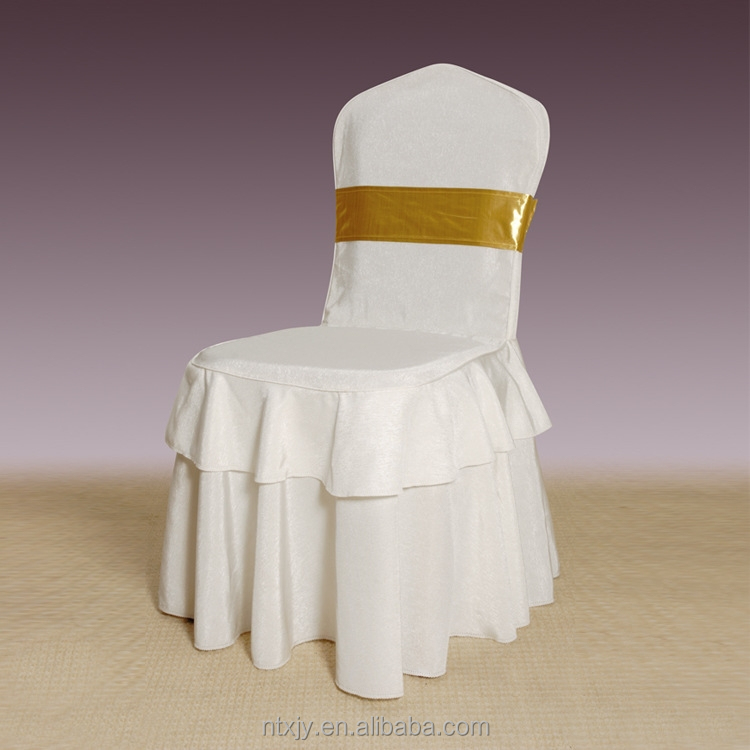Hot selling wedding stoel cover spandex