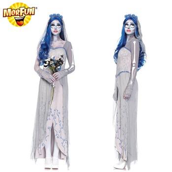 New Corpse Bride Wedding Dress For Sale Emily Costume Corpse Bride - Corpse Bride Inspired Wedding Dress
