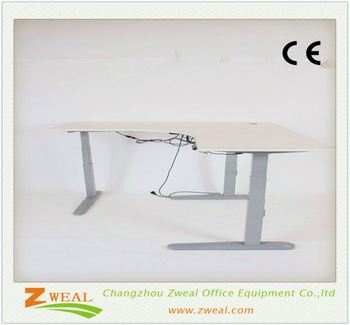 school furniture desk and chair factory supply electric adjustable feet fashion designer work table