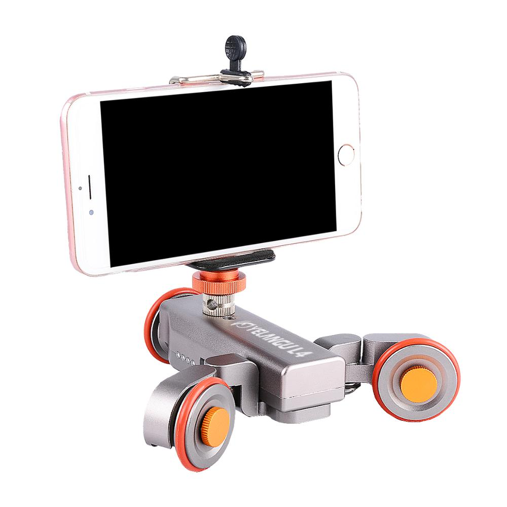 YELANGU L4 Professional Electric Autodolly Track Slider for Dslr Camera And Smartphone