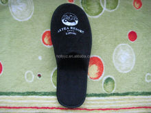 Closed toe custom design slippers for hotel