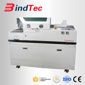 TC-5500PUR PUR Perfect Binding New Generation Adhesive PUR Melt Book Binder Binding Machine