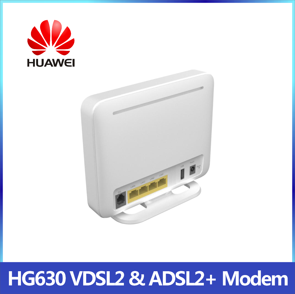 Huawei HG630 VDSL2//ADSL2 300Mbps Wireless Modem//router