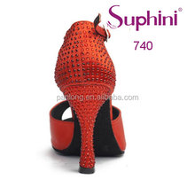 eye-catching and comfortable high heel ladies salsa latin dance shoes