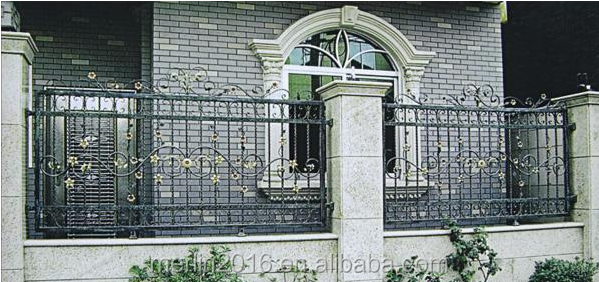 merlin luxury wall iron fence designs