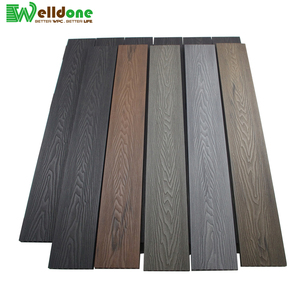 3d wood grain online embossed outdoor floor swimming pool thermowood bengkirai wpc decking