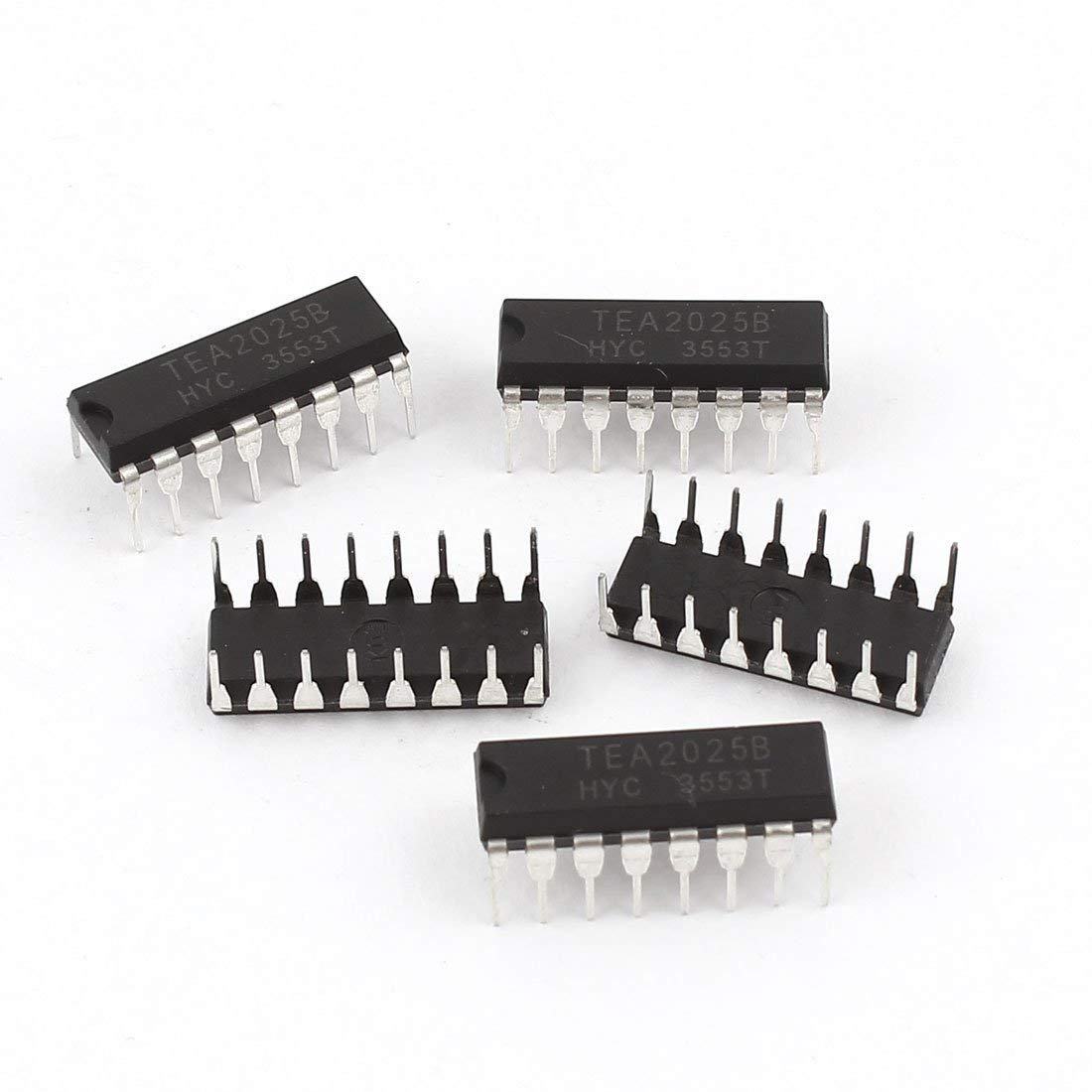Cheap Ic Audio Amplifier Circuit Find Tda2009 Stereo Hifi Class Ab Power Electronic Get Quotations Aexit 5 Pcs Dip Switches Tea2025 Tea2025b 16 Sp3t
