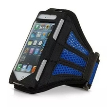 """Universal Mesh Breathable Armband For Huawei Ascend G6 P6 GYM Running Sports Armband For 4.5-4.8"""" Cell Phone"""