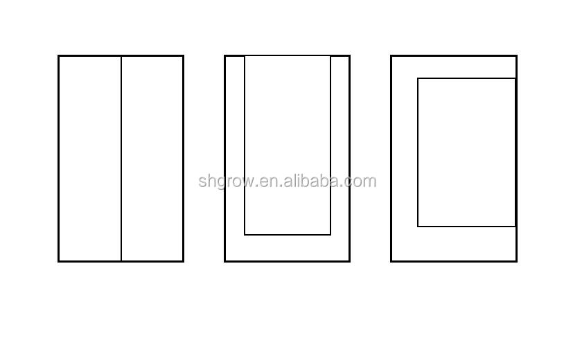 A buon mercato cucito cerniera di apertura in plastica pellicola polvere porta barriera dirt isolamento porta