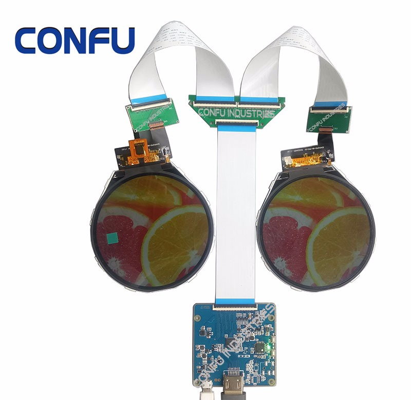 Confu Hdmi To Mipi Dsi Driver Board For Dual 3 4 Round Circular 800*800 Lcd  Panel Industrial Smart Home Raspberry Pi Diy China - Buy Hdmi To Mipi Dsi
