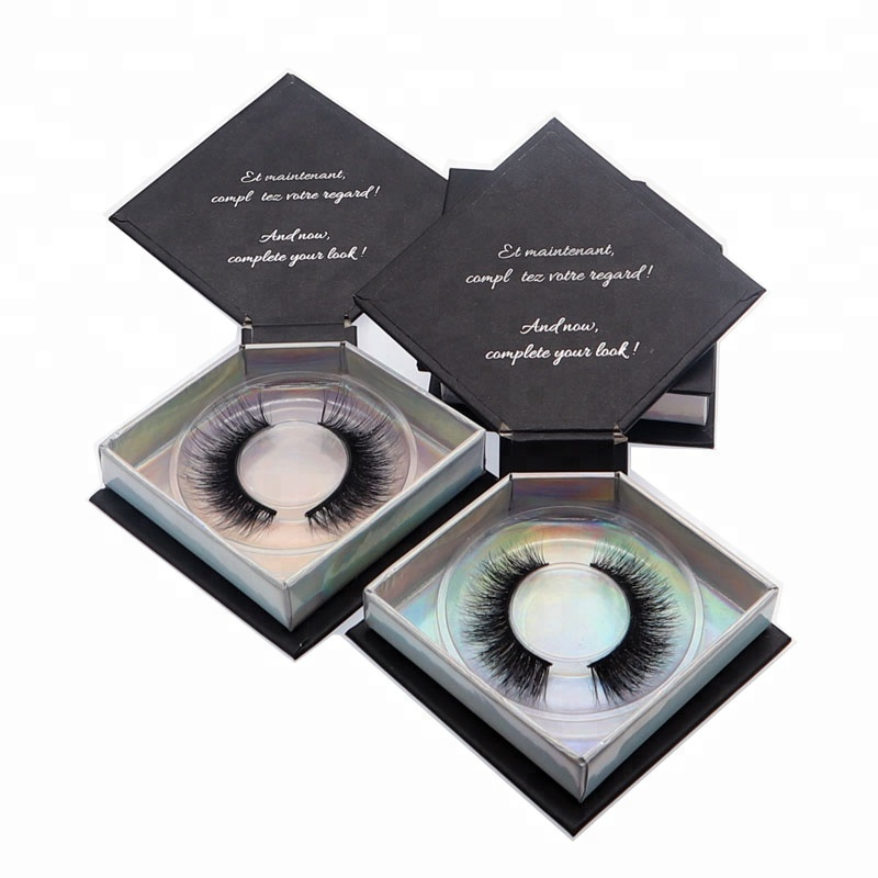 make up to sell wholesale mink eyelash with eyelash boxes custom logo