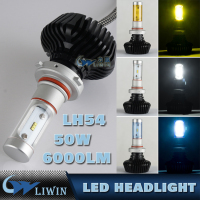 LED Auto Headlight Bulb H11 880 881 Car Led Headlight Replace Halogen And HID Kit Car Bulb 50W Led Headlamp Light