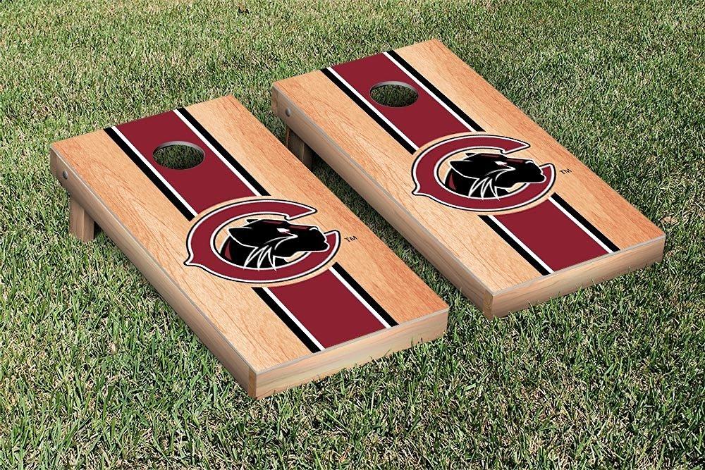 Chapman Panthers Cornhole Game Set Hardcourt Stripe Version
