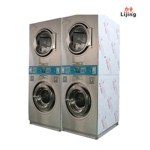 2017 new stype Coin laundry machine,coin operated laundry washer dryer(gas,steam,electric)