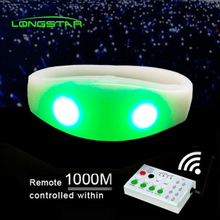 Xyloband LED Controller <span class=keywords><strong>Software</strong></span> Diprogram Dikendalikan LED Gelang