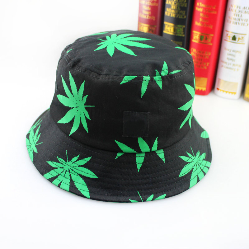 9de7057816c Get Quotations · Hot! Adult Novelty Bob Summer Style Panama bucket hat For Hip  Hop men Weed bucketHats