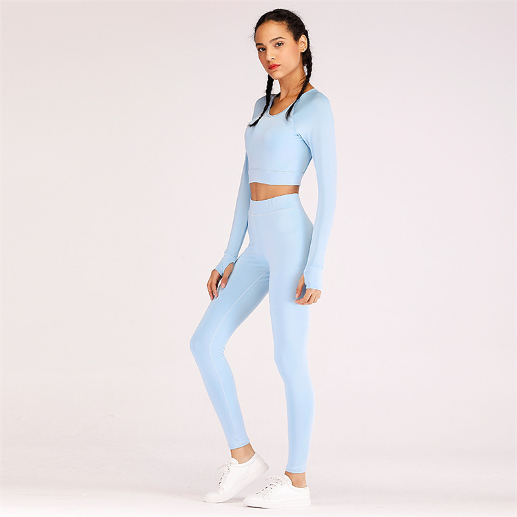 Custom Laser Cut Workout Fitness Girls Gym Suit  High Quality Women Yoga Sports Wear