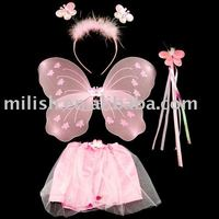 Party butterfly tutu dress skirt/fairy wings MW-0072
