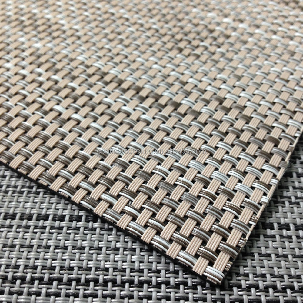 Woven Pvc Chilewich Flooring Of Wear Resistant Flooring