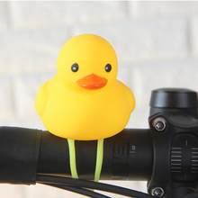 Горячая Распродажа, мультяшная утка, головной светильник, светящаяся утка, велосипедные колокольчики, руль, Аксессуары для велосипеда, порт...(Китай)