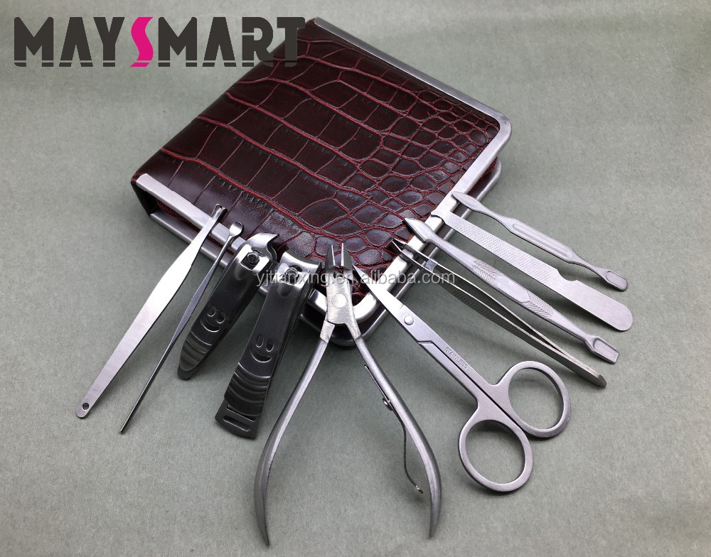 Stainless Steel Nail Clipper Professional Nail Manicure Pedicure Set