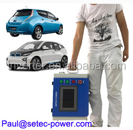 Portable 10kw EV quick Charger CHAdeMO/CCS SETEC EVCharger 7KW-120KW