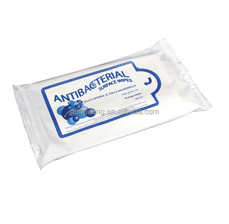 40 Large Wipes Antibacterial Surface Wipes
