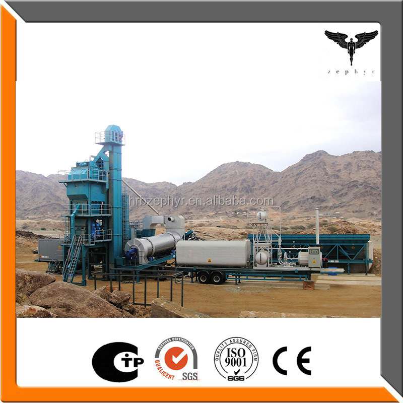 Low price mobile asphalt mixing plant
