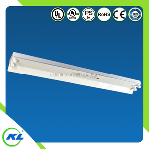 18w T5 T8 LED tube fluorescent batten fittings with reflector CE ROHS UL CUL t5 led working light