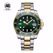 Volle Marke Berühmte Rolexable Edelstahlmannleuchtende Armbanduhr Automatische RAjL453