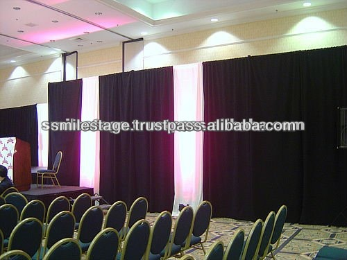 RK Pipe & Drape system for conventions/parties/trade shows/art shows