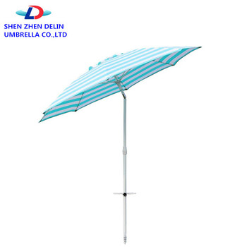 Automatic Open Aluminum Beach Outdoor Patio Umbrella Parts