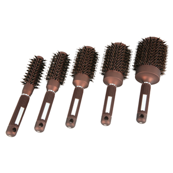 Barber Shop Round Hair Brushes Set