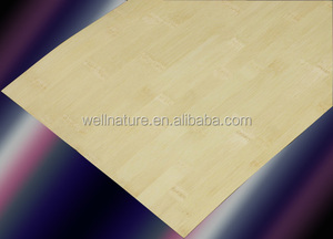 Thin Bamboo Veneer Sheet for office worktop decoration material