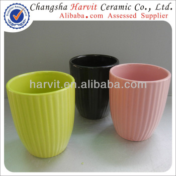Cheap Small Flower Pots Shape / Indoor Flower Pot Molds & Stand & Plate & Saucer / Embossed Flower Pot